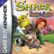 Shrek Hassle in the Castle - Game Boy Advance Game