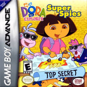 Dora Super Spies - Game Boy Advance Game