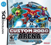 Custom Robo Arena - DS Game
