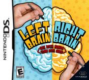 Left Brain Right Brain - DS Game