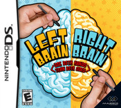 Left Brain Right Brain - DS Game