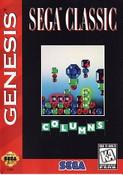 Complete Columns Sega Classic Cover - Genesis