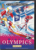 Complete Winter Olympics Mega Drive Cover - Genesis