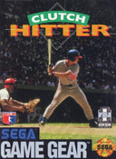Clutch Hitter - Game Gear Game