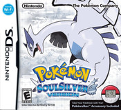 Complete Pokemon SoulSilver Nintendo DS Game in Original Box with Pokewalker.