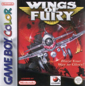 Wings of Fury - Game Boy Color Game
