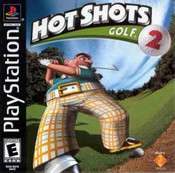 Complete Hot Shots Golf 2 - PS1 Game