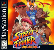 Complete Street Fighter Collection - PS1 Game