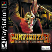 Complete Gunfighter: the Legend of Jesse James - PS1 Game