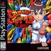 Super Puzzle Fighter II Turbo - PS1 Game