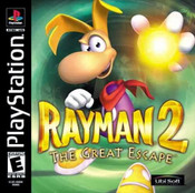 Rayman 2: The Great Escape - PS1 Game