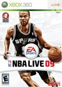 NBA Live 09 - Xbox 360 Game