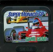Super Monaco GP - Game Gear Game