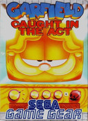 Garfield Caught in the Act - Game Gear Game