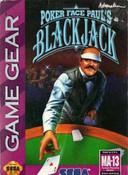 Poker Face Paul's Blackjack - Game Gear Game
