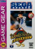 World Series Baseball '95 - Game Gear Game