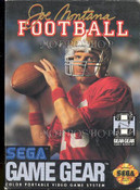 Joe Montana Football - Game Gear Game