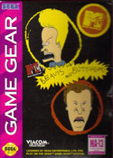 MTV's Beavis and Butthead - Game Gear Game