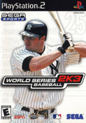 World Series Baseball 2k3 - PS2 Game