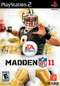 Madden NFL 11 - PS2 Game