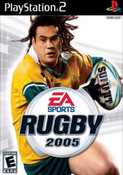 Rugby 2005 - PS2 Game