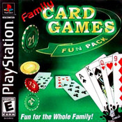 Family Card Games Fun Pack - PS1 Game
