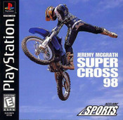 Complete Jeremy McCGrath Supercross 98 - PS1 Game