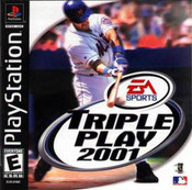 Triple Play 2001 - PS1 Game