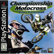 Championship Motocross Video Game for Sony PlayStation