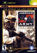 America's Army Rise of a Soldier - Xbox Game