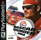 Complete Nascar Thunder 2003 - PS1 Game