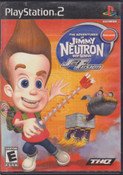 Adventures of Jimmy Neutron Jet Fusion - PS2 Game
