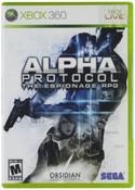 Alpha Protocol - Xbox 360 Game