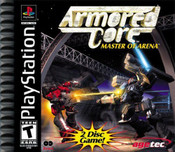 Complete Armored Core Master of Arena - PS1 Game