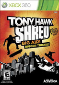 Tony Hawk Shred - Xbox 360 Game