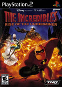 Incredibles Rise of the Underminer, The - PS2 Game