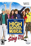 High School Musical Sing It! - Wii Game