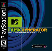 Complete MTV Music Generator - PS1 Game