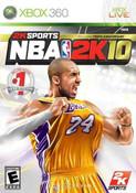 NBA 2K10 - Xbox 360 Game