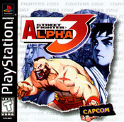 Street Fighter Alpha 3 - PS1 Game