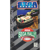 Complete Sega Rally Championship - Saturn Game