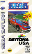 Daytona USA Sega Saturn complete CIB game for sale.