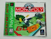 Complete Monopoly Greatest Hits - PS1 Game