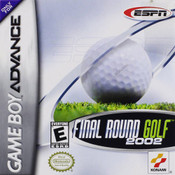 Final Round Golf 2002 - Game Boy Advance Game