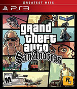 Grand Theft Auto San Andreas - PS3 Game