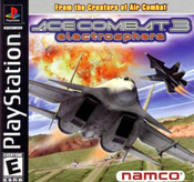 Ace Combat 3 Electrosphere - PS1 Game