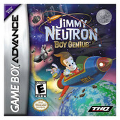 Jimmy Neutron Boy Genius - Game Boy Advance Game
