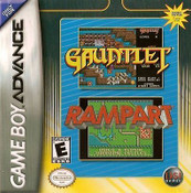 Gauntlet/Rampart - Game Boy Advance Game