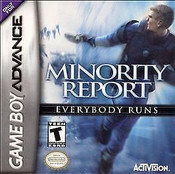 Minority Report - Game Boy Advance Game