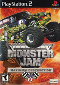 Monster Jam Maximum Destruction - PS2 Game